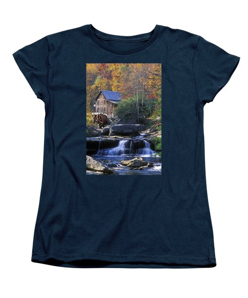 Autumn Grist Mill - Fs000141 Women's T-Shirt (Standard Cut) by Daniel Dempster