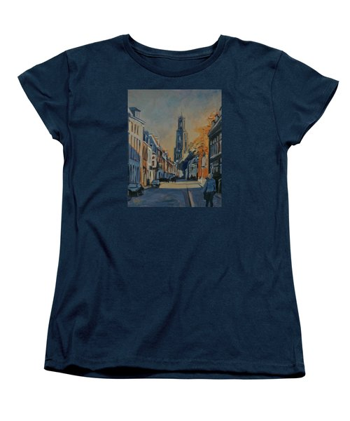 Autumn In The Lange Nieuwstraat Utrecht Women's T-Shirt (Standard Fit)