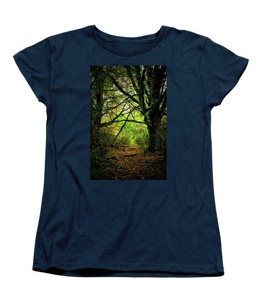 Women's T-Shirt (Standard Cut) featuring the photograph Autumn Light by David Patterson