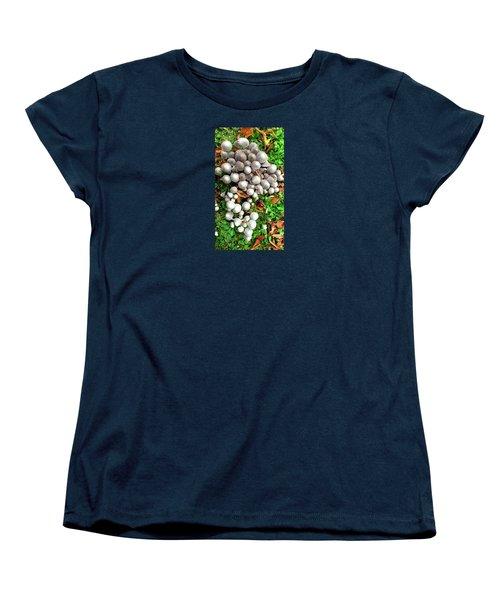 Autumn Mushrooms Women's T-Shirt (Standard Cut) by Nareeta Martin