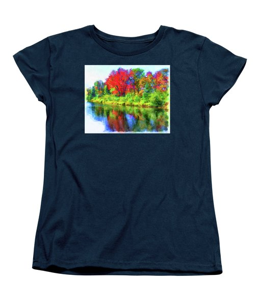 Autumn Reflections Women's T-Shirt (Standard Cut)