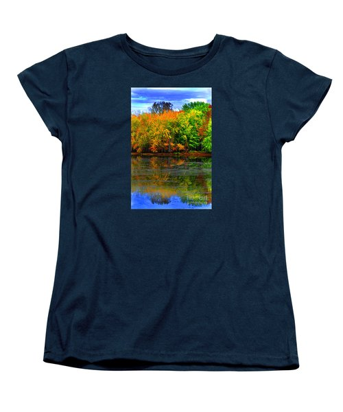 Autumn Sings Women's T-Shirt (Standard Cut) by Diane E Berry