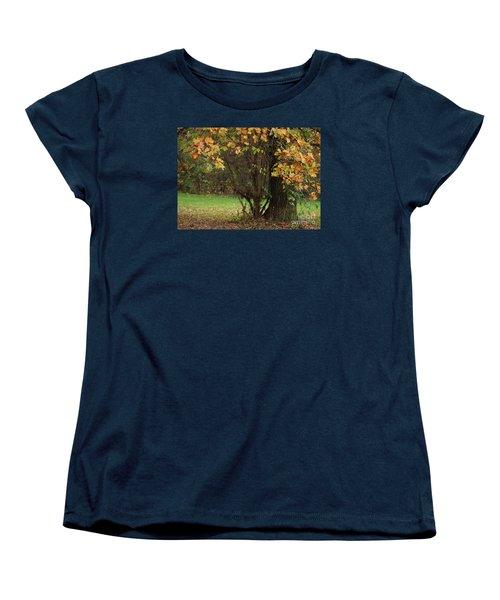 Autumn Tree 2 Women's T-Shirt (Standard Cut) by Rudi Prott