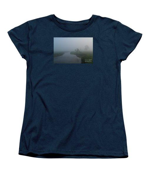 Axe In The Mist Women's T-Shirt (Standard Cut) by Gary Bridger