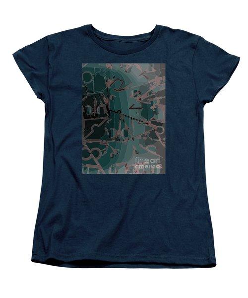 Babble Women's T-Shirt (Standard Cut) by Moustafa Al Hatter