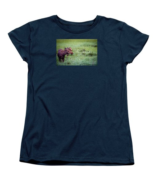 Baby And Me Women's T-Shirt (Standard Cut) by Sandy Molinaro