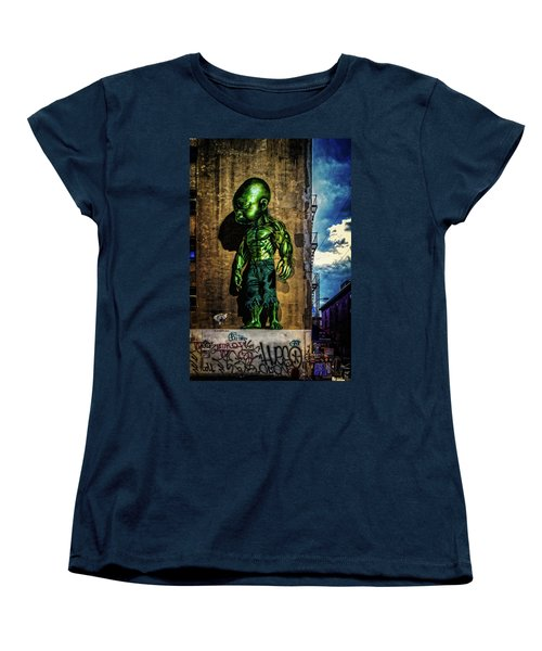 Women's T-Shirt (Standard Cut) featuring the photograph Baby Hulk by Chris Lord