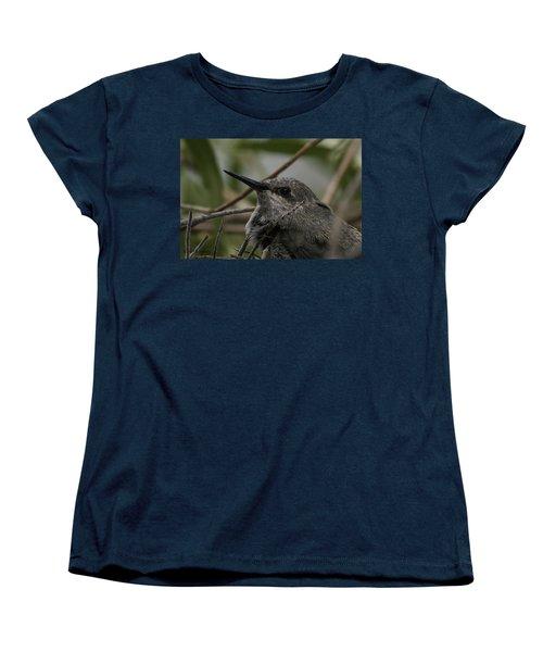 Baby Humming Bird Women's T-Shirt (Standard Cut)