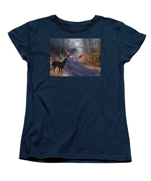 Back Home Women's T-Shirt (Standard Cut) by Bill Stephens