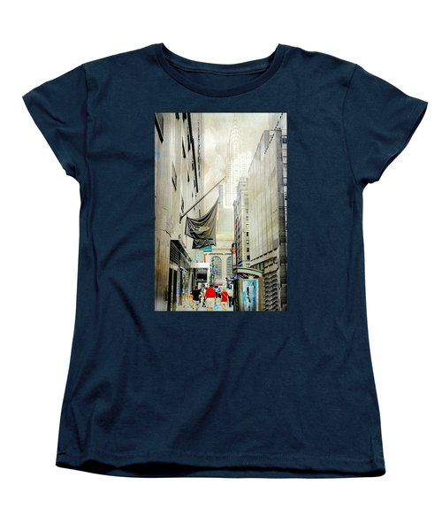 Women's T-Shirt (Standard Cut) featuring the photograph Back To You by Diana Angstadt