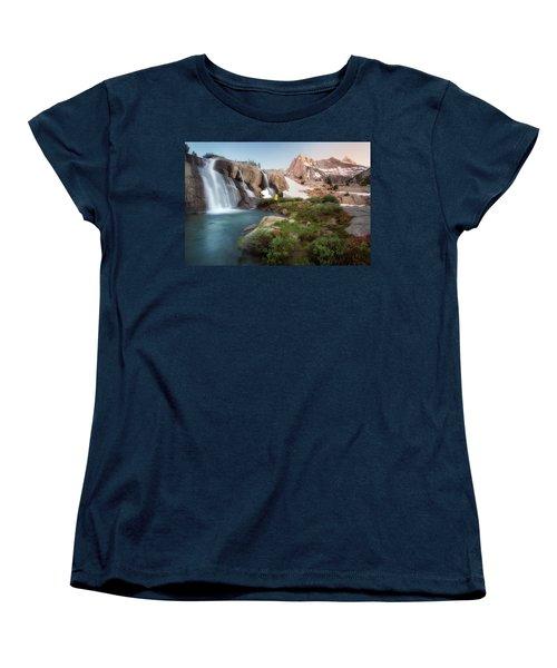 Backcountry Views Women's T-Shirt (Standard Cut) by Nicki Frates