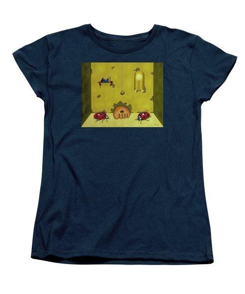 Badminton By Candlelight Women's T-Shirt (Standard Cut)