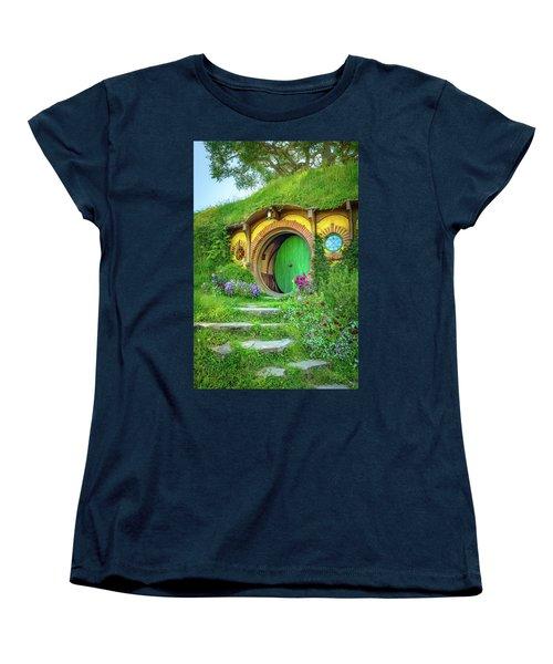 Bag End Women's T-Shirt (Standard Cut) by Racheal Christian