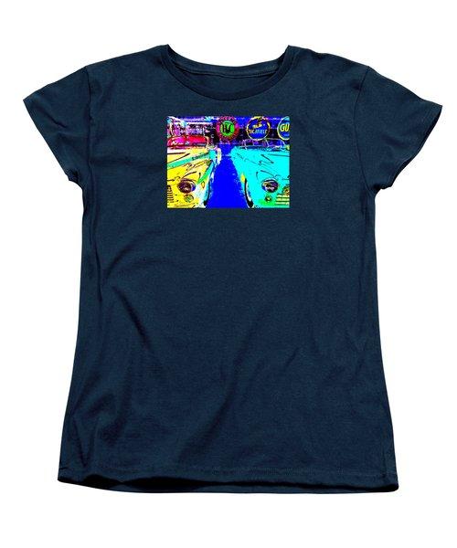 Bahre Car Show II 40 Women's T-Shirt (Standard Cut) by George Ramos