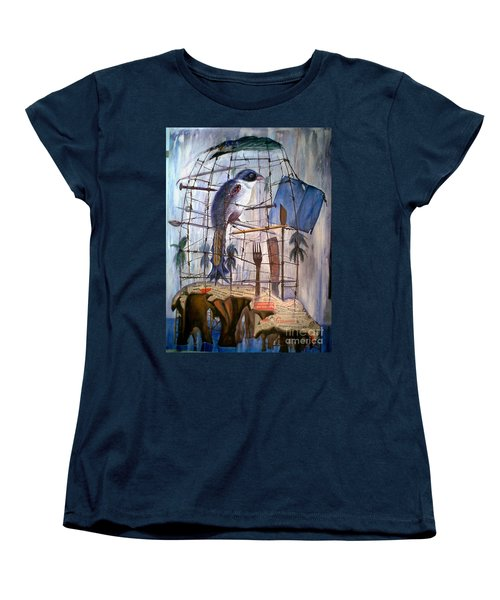 Bajo Mis Propias Alas Women's T-Shirt (Standard Cut)