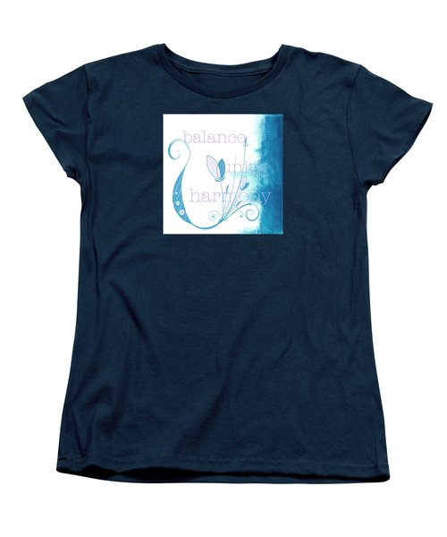 Balance Women's T-Shirt (Standard Cut) by Kandy Hurley