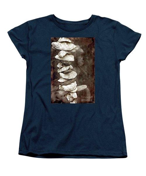 Balanced Women's T-Shirt (Standard Cut) by Ellen Cotton