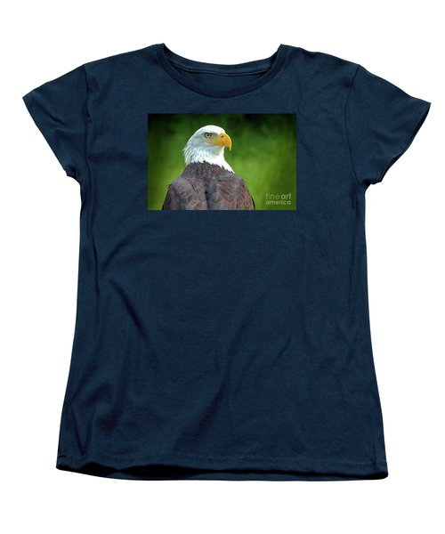 Bald Eagle Women's T-Shirt (Standard Cut) by Franziskus Pfleghart