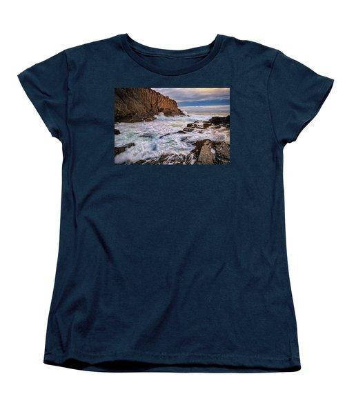 Women's T-Shirt (Standard Cut) featuring the photograph Bald Head Cliff by Rick Berk
