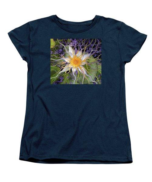 Bali Dream Flower Women's T-Shirt (Standard Cut) by Christopher Beikmann