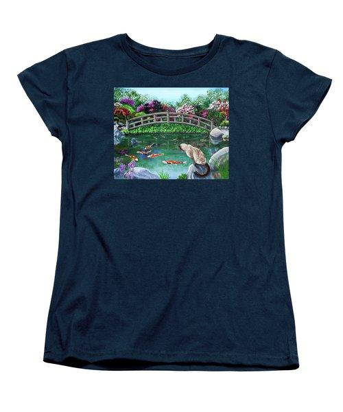 Balinese Cat At Hakone Women's T-Shirt (Standard Cut) by Laura Iverson