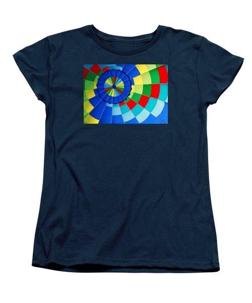 Balloon Fantasy 8 Women's T-Shirt (Standard Cut) by Allen Beatty