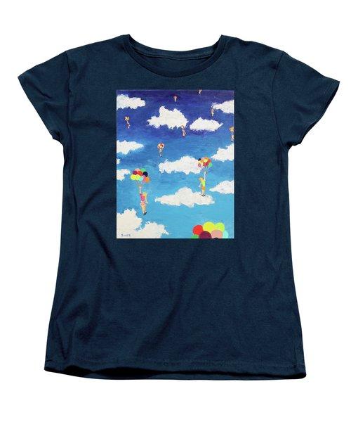 Balloon Girls Women's T-Shirt (Standard Cut)