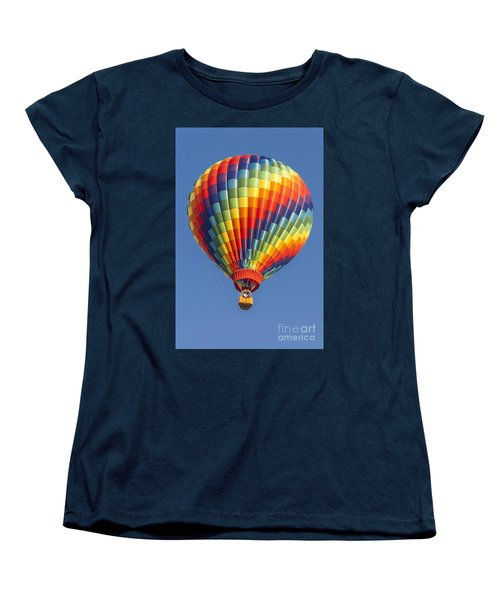 Ballooning In Color Women's T-Shirt (Standard Cut)