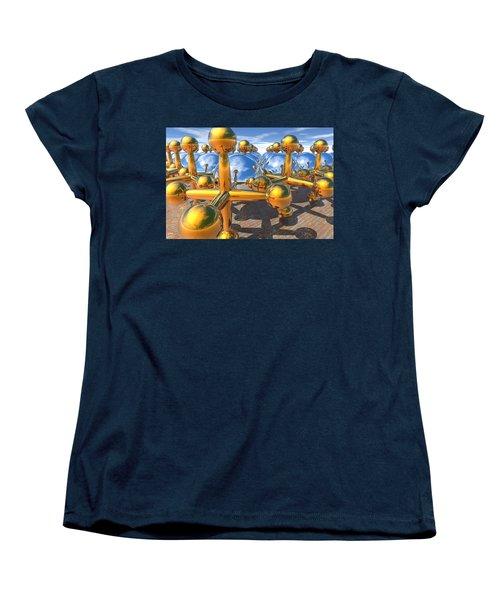 Balls And Jacks II Women's T-Shirt (Standard Cut) by Lyle Hatch