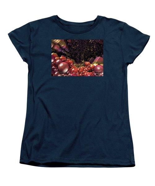 Ballsville Women's T-Shirt (Standard Cut) by Melissa Messick
