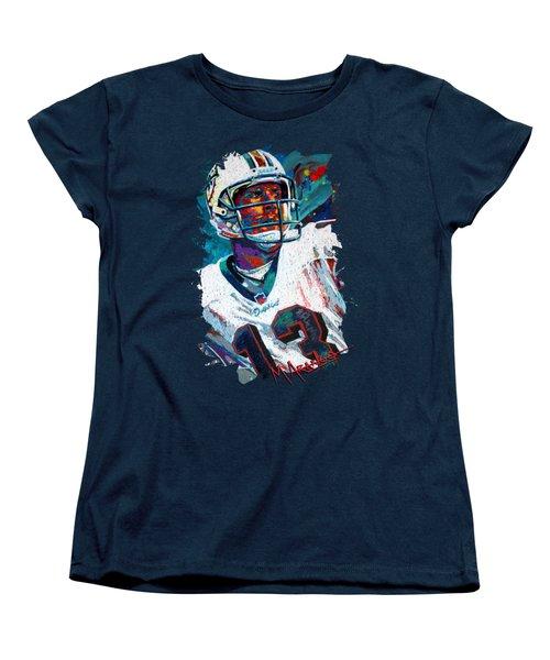 Bambino D'oro Dan Marino Women's T-Shirt (Standard Cut) by Maria Arango