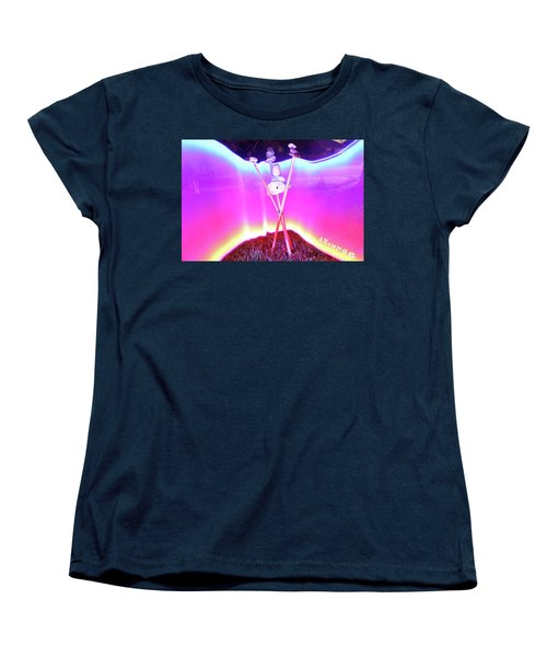 Bamboo And Stones Women's T-Shirt (Standard Cut) by Andrew Nourse