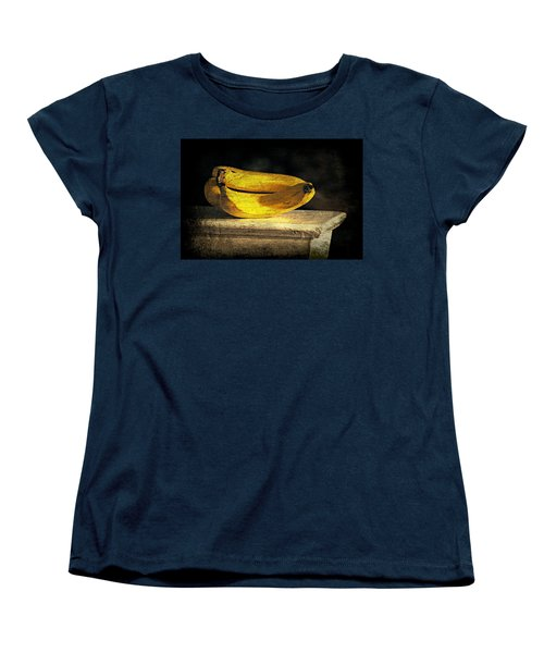 Women's T-Shirt (Standard Cut) featuring the photograph Bananas Pedestal by Diana Angstadt
