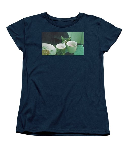 Women's T-Shirt (Standard Cut) featuring the photograph Bandit by Laurie Stewart