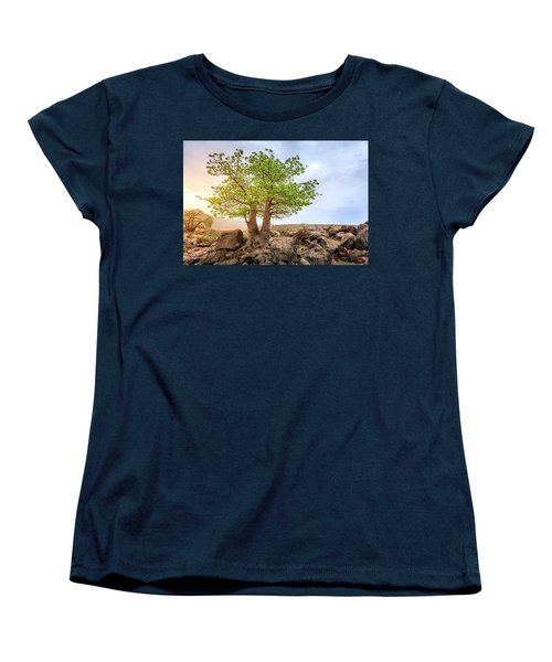 Women's T-Shirt (Standard Cut) featuring the photograph Baobab Tree by Alexey Stiop