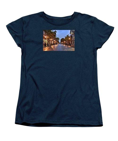 Bar Harbor - Maine Women's T-Shirt (Standard Cut) by Brendan Reals