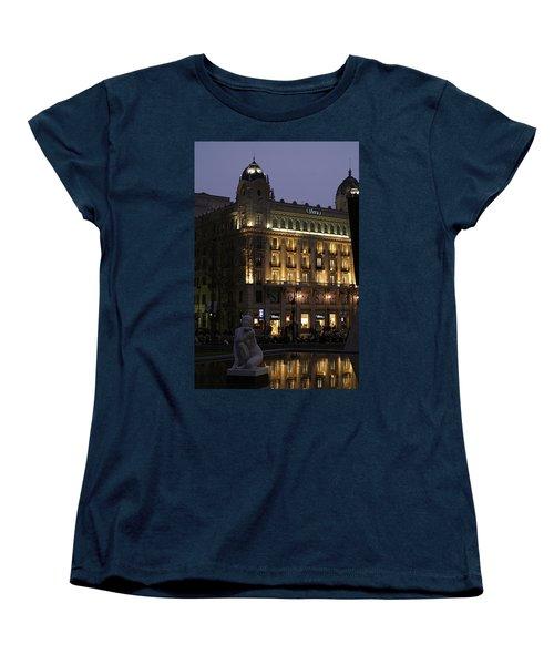 Barcelona Spain Women's T-Shirt (Standard Cut) by Henri Irizarri
