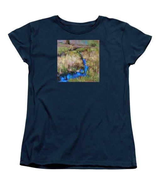 Barefoot In The Dew  Women's T-Shirt (Standard Cut) by Anastasija Kraineva