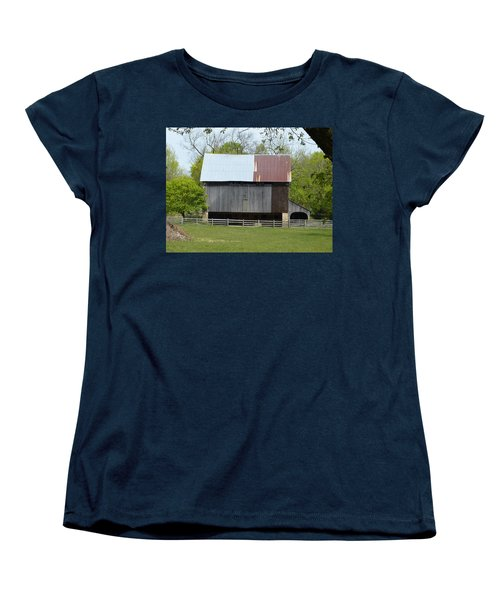 Barn Of Fair Hill Women's T-Shirt (Standard Cut) by Donald C Morgan