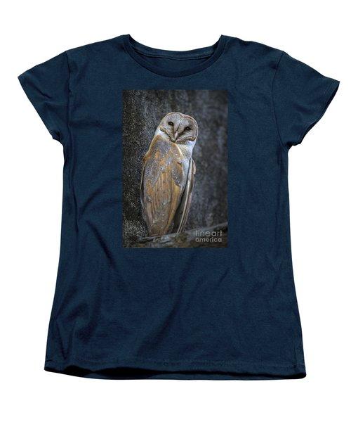 Barn Owl Women's T-Shirt (Standard Cut)