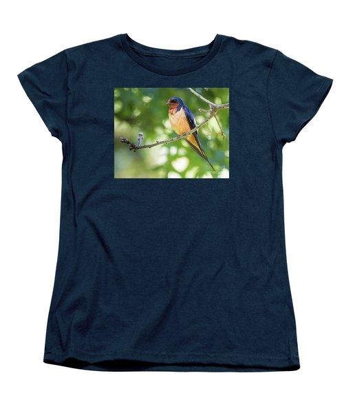 Barn Swallow  Women's T-Shirt (Standard Cut) by Ricky L Jones