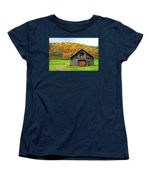 Barntifull Women's T-Shirt (Standard Cut) by Dale R Carlson