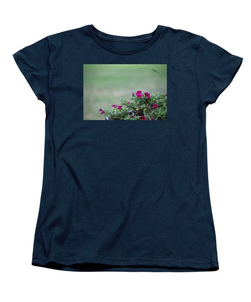 Barrel Of Flowers Women's T-Shirt (Standard Cut)
