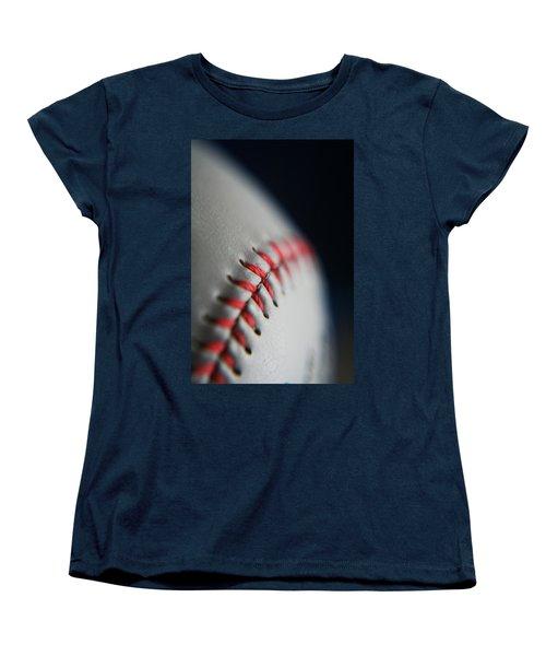 Baseball Fan Women's T-Shirt (Standard Cut) by Rachelle Johnston