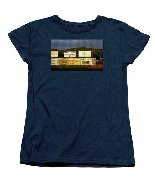 Baseball Sunset 2005 Women's T-Shirt (Standard Cut) by Frank Romeo