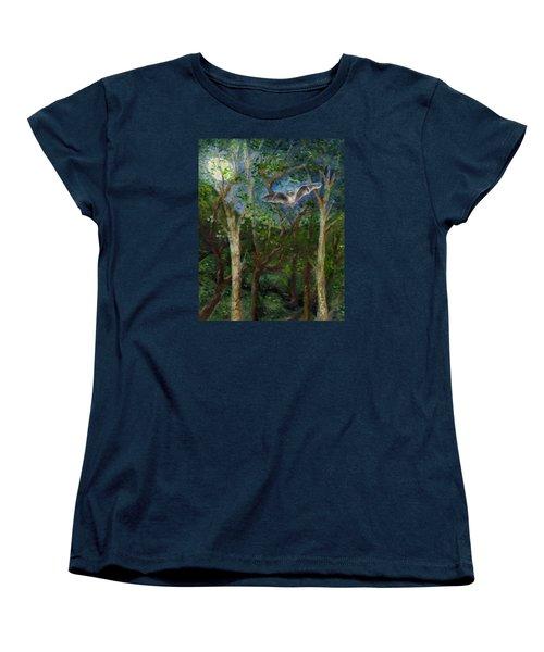Bat Medicine Women's T-Shirt (Standard Cut) by FT McKinstry
