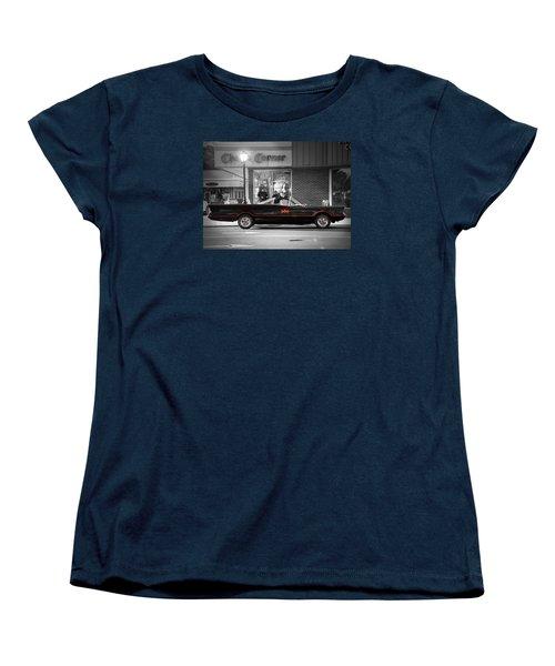 Batmobile Women's T-Shirt (Standard Cut) by Nina Bradica