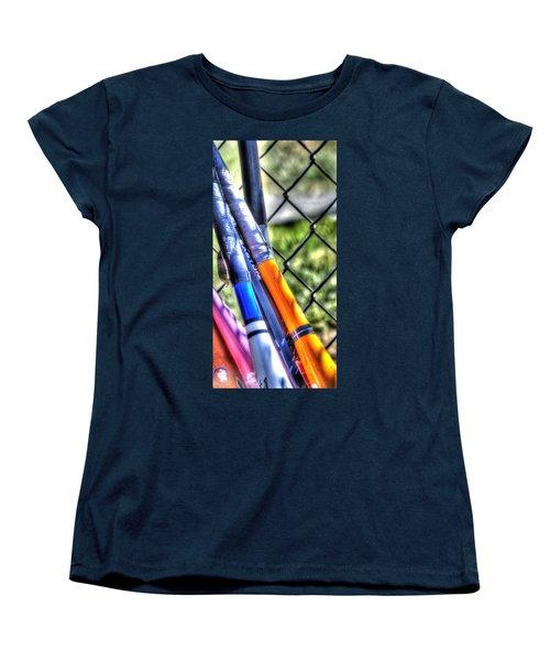 Bats 1802 Women's T-Shirt (Standard Cut) by Jerry Sodorff
