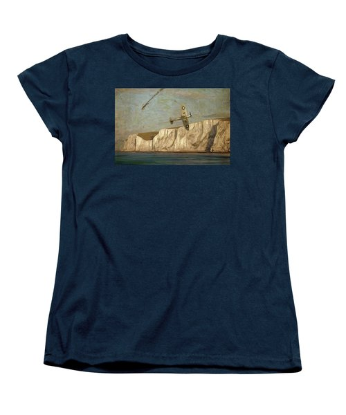 Battle Of Britain Over Dover Women's T-Shirt (Standard Fit)