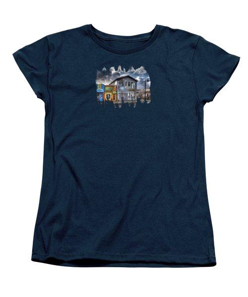 Bay Street Morning Women's T-Shirt (Standard Cut) by Thom Zehrfeld